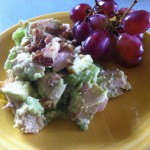 Chicken Salad with Creamy Avocado Dressing
